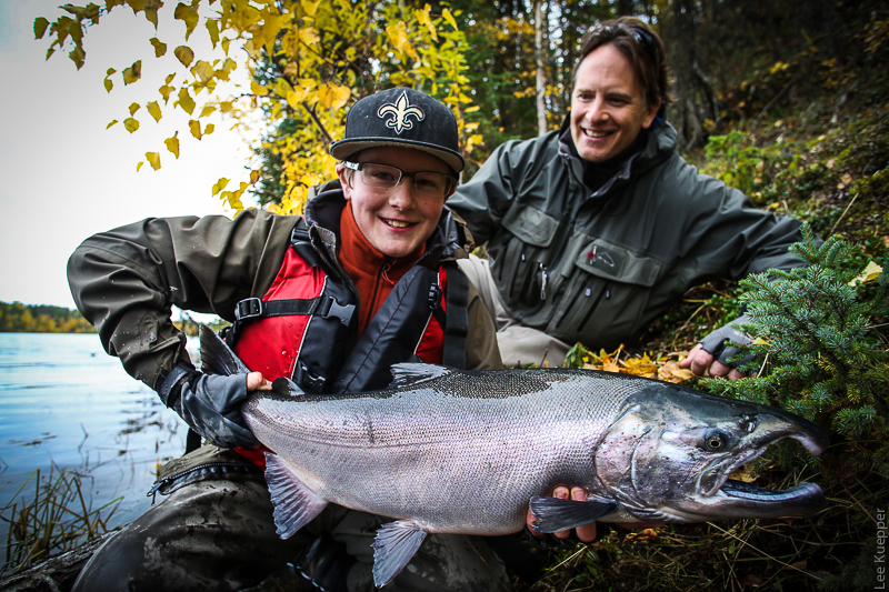 Kid Fishing Salmon 2